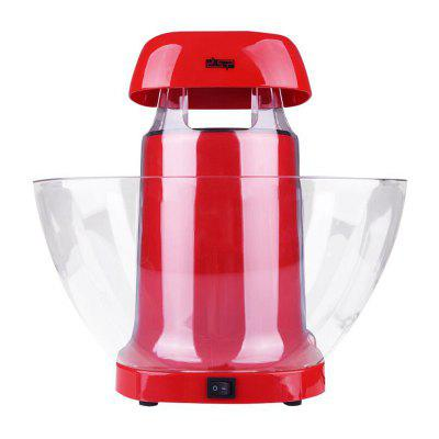 Automatic Popcorn Maker with Bowl High Temperature Resistance BPA Free Container EU Plug for Home