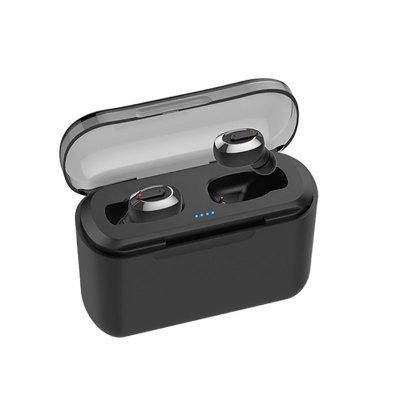 KSUN KS-BT01 TWS 5.0 Bluetooth Earphone 3D Stereo Wireless Earphone with Dual Microphone