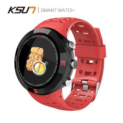 KSUN KSR705 GPS Heart Rate Monitor IP68 Sport Smart Watch for IOS Android With Blood Pressure Image