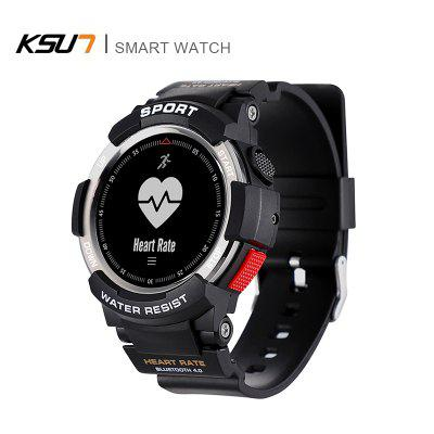 KSUN KSR702 Heart Rate Monitor Health Track Sleep Monitors Remote Camera Watches IP68 Smart Watch