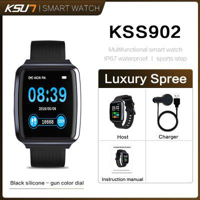 KSUN KSS902 IPS TouchScreen Smart Watch Blood Pressure Oxygen Sleep Anti-lost Fitness Sport Bracelet