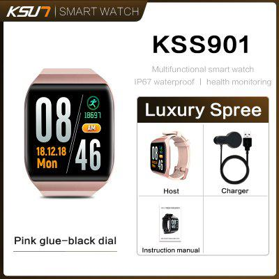 KSUN KSS901 Smart Bracelet Band With Heart Rate Monitor ECG Blood Pressure IP68 Fitness Wrisatband