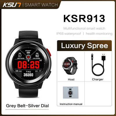 KSUN KSR913 Smart Watch Bracelet 20 Dial Watch Faces Fitness Tracker IP68 Bluetooth Smartwatch