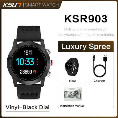 KSUN KSR903 Cheap Bluetooth Android IOS Phones Waterproof Touch Screen Sport Health Smart Watch