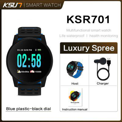 KSUN KSR701 Fitness Tracker Health Smart Sport Watch ECG PSG Recorder Bracelet Smart Phone Watch
