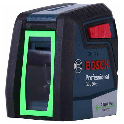 Bosch GLL30G High Precision Laser Level Green Light Two-Line Horizontal And Vertical Laser Level