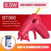 A-BF BT360 Cordless Glue Gun USB Lithium Battery Direct Charging  Hot Melt Glue Gun with Glue Stick