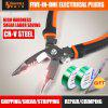 SHEFFIELD S035057 8 inches 5 in 1 Multifunctional electrician needle nose pliers