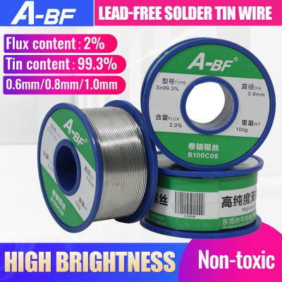 A-BF Lead-free Solder Tin Wire High Brightness No-clean Solder Wire Soldering Iron Tool