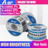 A-BF Solder Tin Wire Roll Rosin Core Soldering High Brightness Non-toxic Tin Wire for Soldering Iron