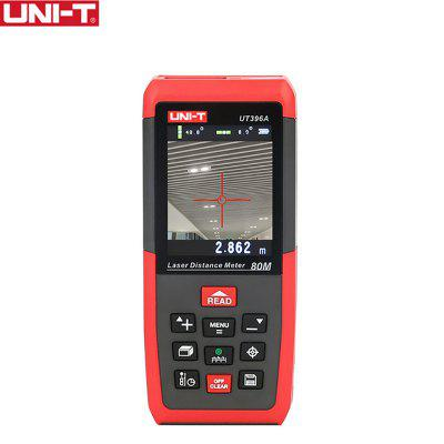 UNI-T UT396A Professional Laser Distance Meters Lofting Test Leveling Instrument Data Storage 80m