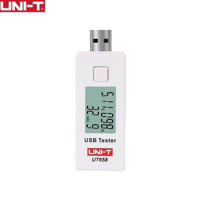 UNI-T UT658 USB Voltage Tester Phone Computer Charging Current Measure Energy Monitor LCD Backlight