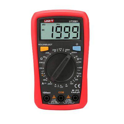 UNI-T Digital Multimeter UT33A Auto Range Voltage Current Resistance Measure LCD AC DC Tester