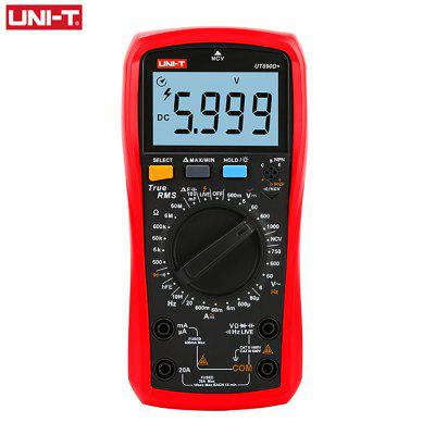 UNI-T UT890C Digital Multimeter True RMS Voltage NCV hFE Ammeter Resistance Diode Temperature Tester