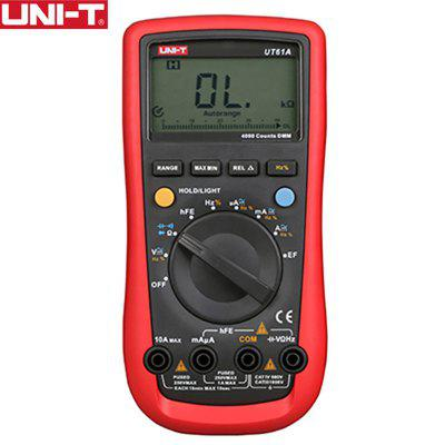 UNI-T UT61E Digital Multimeter Ture RMS Auto Range PC Connect AC DC Voltage Current Meter
