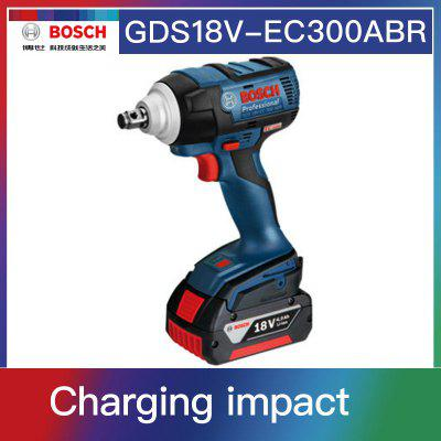 Bosch GDS 18V-EC 300ABR 18V Lithium Battery Rechargeable Electric Wrench Brushless Impact Wrench