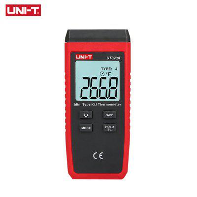 UNI-T UT320A UT320D Mini Contact Type Thermometer LCD Backlight Temperature Measurement