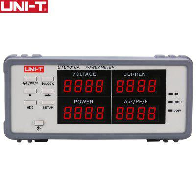 UNI-T UTE1010A True RMS Voltage Current Analyzer Digital Power Meter Electrical Parameter 3000W