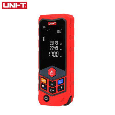 UNI-T LM50D Distance Meter Handheld Laser 50M Digital Battery Powered Trena Laser Distance Measurer