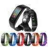 C1Plus Smart Bracelet Color Screen Blood Pressure Fitness Tracker Heart Rate For Android IOS