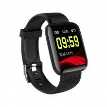 116 Plus Wristband Sports Fitness Blood Pressure Heart Rate Smart Band Waterproof Smartwatch D13