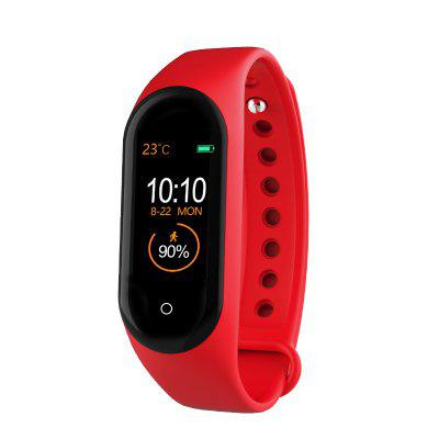 M4 Smart band Fitness Tracker Watch Heart Rate Blood Pressure Smartband Monitor Health Wristband smart fitness bracelet w8c blood pressure measurement fitness tracker waterproof smart band watch heart rate monitor pedometer