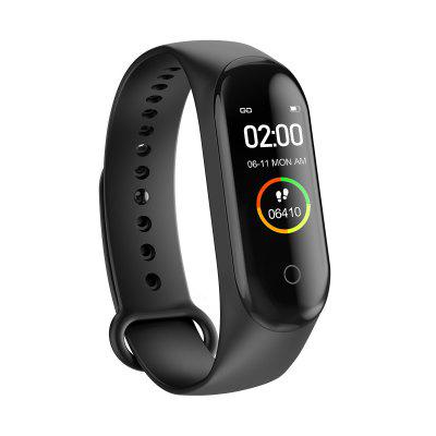 M4 Smart band Fitness Tracker Watch Heart Rate Blood Pressure Smartband Monitor Health Wristband honor band 6 smart wristband 1 47 inch amoled touch screen professional sports fitness tracker heart rate blood oxygen monitor long standby smart watch