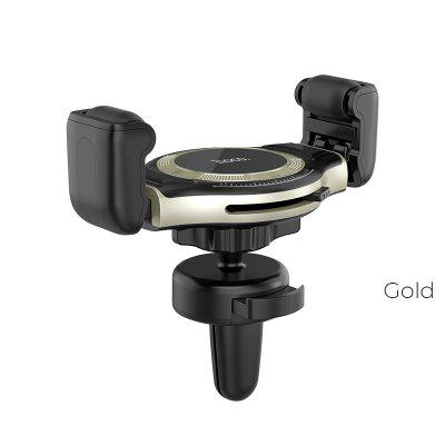 HOCO S1 Lite Car Phone Holder Newest Wheel design Holder Stand Support Adjust Clip Size