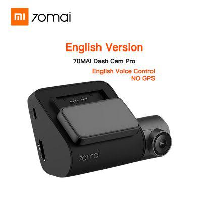 Mi 70mai Pro Dash Cam 1944P GPS ADAS For Car DVR Camera WIFI Voice Control 24H Parking Monitor