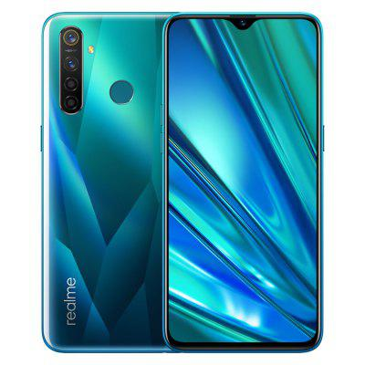 EU Version OPPO Realme 5 Pro 6.3inch 4035mAh 128GB ROM 48MP 16MP Quad Cameras Mobile Phone Image