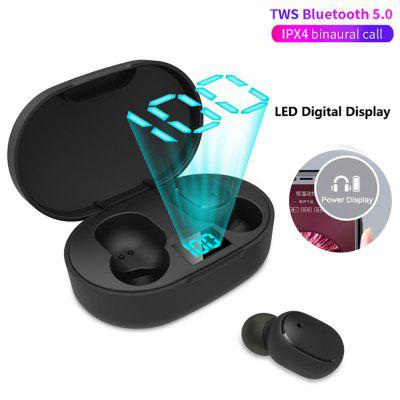 Фото - New A6L Wireless Earphone Headphone PK Redmi Airdots Headsets Stereo Bluetooth 5.0 With Mic pk A6S dekko dk 8809 sports mini auto scan fm radio w stereo earphone silver blue black