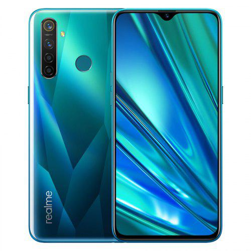 EU Version OPPO Realme 5 Pro 6.3inch 4035mAh 128GB ROM 48MP 16MP Quad Cameras Mobile Phone