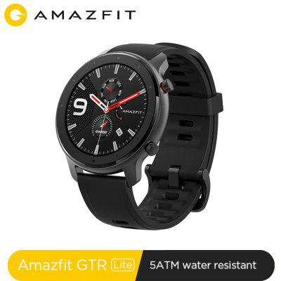Amazfit GTR Lite 47mm Smartwatch 1.39inch AMOLED 5ATM Sport Watch for Android iOS With Silicon Strap