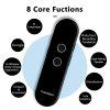 New Smart T4 Portable Voice Translator Instant Real-time Two Way Bluetooth For Business Travelling