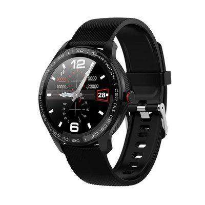L9 Men Smart Watch ECG Heart Rate Blood Pressure Monitor Full Touch Screen Clock For Android IOS недорого
