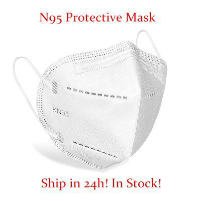 N95 KN95 Surgical Masks 4Layer Anti Dust Bacterial Protective Masks Filtration Non-woven Mouth Cover