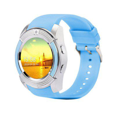 V8 Bluetooth Touch Screen Wrist Watch For Android Smartwatch With Camera SIM Card Slot Waterproof