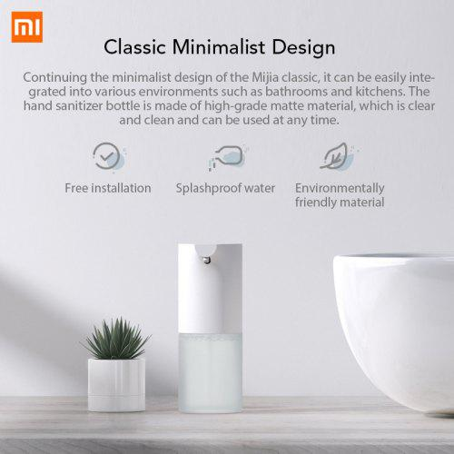 Xiaomi Mijia automatic Induction Foaming Hand Washer Wash Automatic Soap 0.25s Infrared Sensor