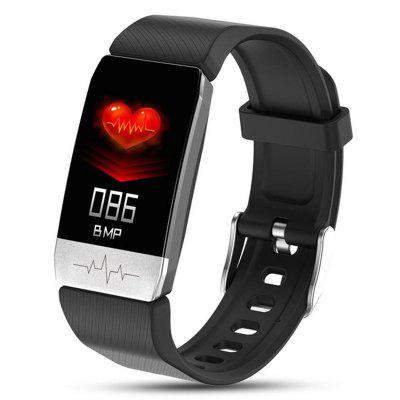 New T1 Smart Watch Body Temperature Measure Blood Pressure Monitor Heart Rate bracelet