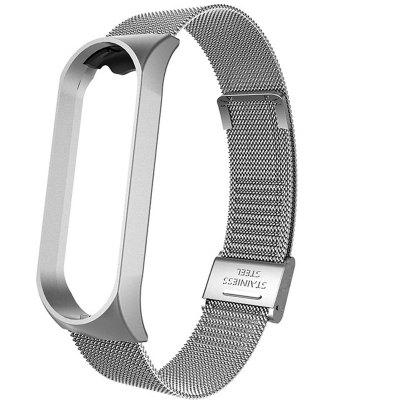 Mi Band 3 Wrist Strap Metal Screwless Stainless Steel For Xiaomi Mi Band 3 Strap Bracelet