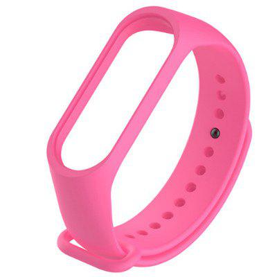 Xiaomi Band 3 Strap Silicone Wristband Bracelet Replacement for Xiomi Band mi band3 Wrist Color TPU