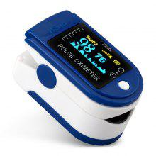 Fingertip Oximeter Pulse Oximetry Instrument Monitoring Heart Rate Blood Glucose SpO2