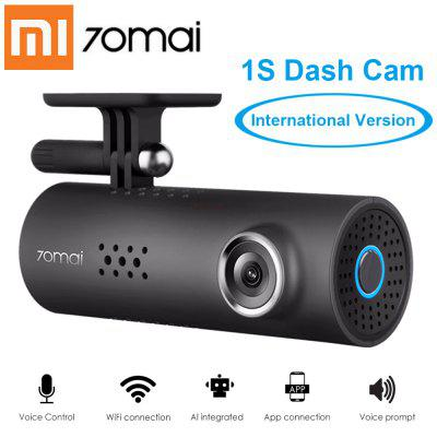 70mai Car DVR 1S APP Controllo vocale inglese 70mai 1S 1080P HD Night Vision Car Camera Recorder