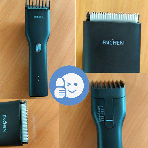 Enchen Boost USB Electric Hair Clipper Two Speed Ceramic Cutter Hair Fast Charging