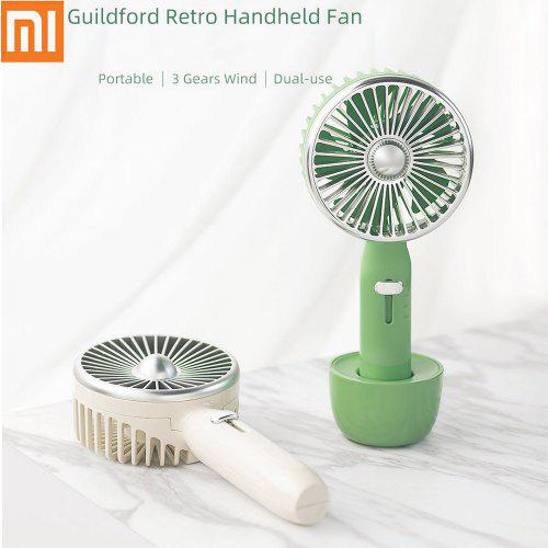 Guildford 2 In 1 Handheld Fan 3 Speed Retro Desk Fan Portable For Camping Travel From Xiaomi Youpin