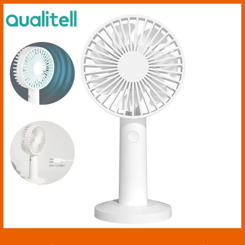 Color : A DR Rechargeable Small Fan Handheld Mini Portable USB Hand Portable Fan Small Foldable 3W