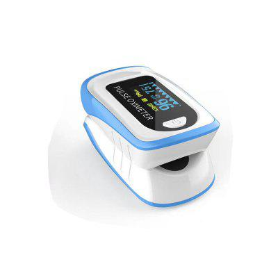 In Stock Portable Finger Oximeter Fingertip Pulsoximeter Pulse Oximeter Blood Pressure Pulse Heart Rate Monitor Without Battery