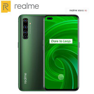 New Original EU Version Realme X50 Pro 5G Mobile Phone Snapdragon 865 4200mAh 65W Fast charge Quad Camera 64MP NFC 5G Smartphone Image
