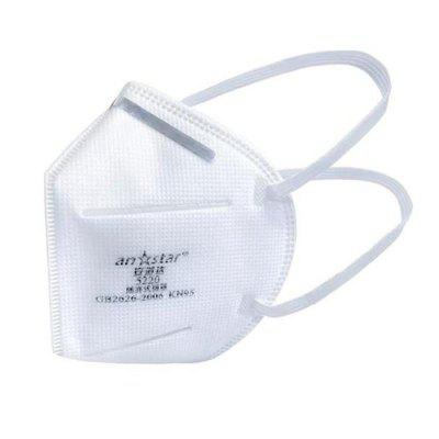 Фото - Anstar Folding Mask Face mask Anti-foaming Protective non-medical Mask With CE FDA Certificate professional protective disposable mask with breathing valve 5 ply earloop protection masks