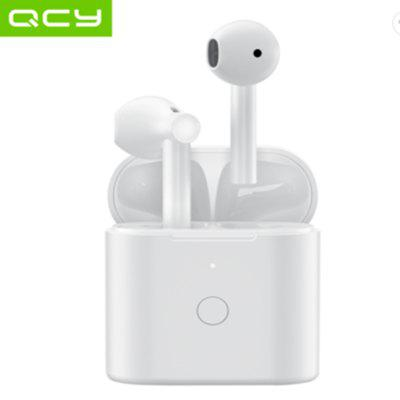 Фото - 2020 New QCY T7 HiFi Stereo Bass Earbuds True TWS Hall Switch Headset ENC Noise Cancelling with Mic QCY APP BT5.1 qcy qy8